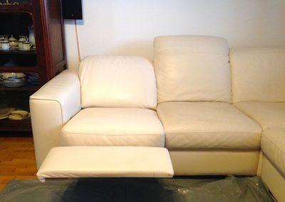 Čištění kožených sedaček 001