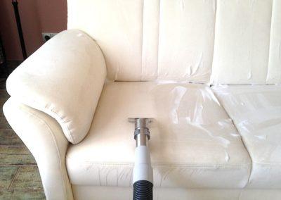Čištění kožených sedaček 008