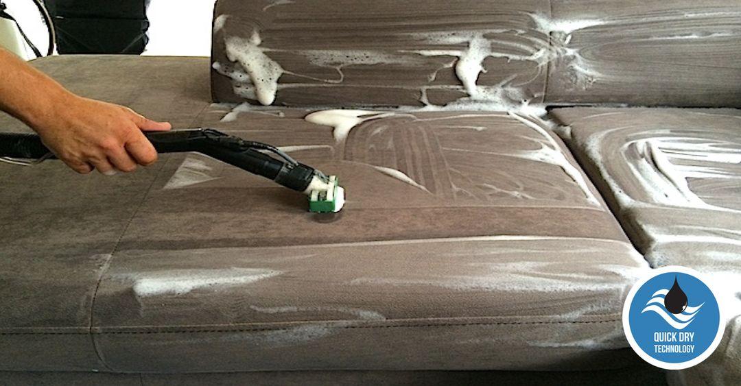 Pěnové čištění sedaček
